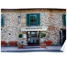 Tuscan Restaurant Poster
