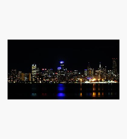 """Melbourne Lights"" Photographic Print"