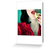 Zest [ Print & iPad Case ] Greeting Card