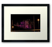 """House in The Sky"" Framed Print"