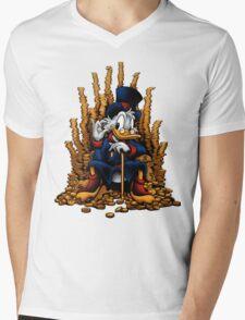 Game of Coins (Alternate) Mens V-Neck T-Shirt