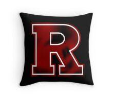 rutgers university  Throw Pillow