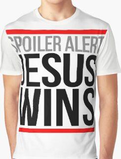 Jesus Wins Graphic T-Shirt