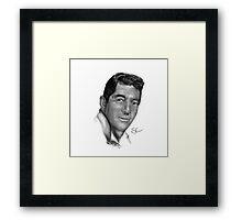 Dean Martin-King of Cool Framed Print