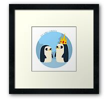 Ice Gunter Framed Print