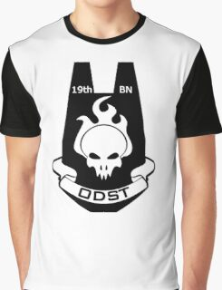 We Are ODST (Black Logo) Graphic T-Shirt