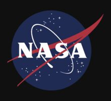 Official NASA (meatball) Logo Kids Tee
