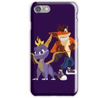 Orange & Purple iPhone Case/Skin