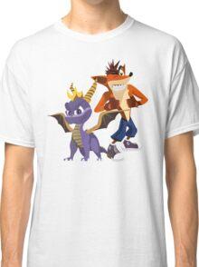 Orange & Purple Classic T-Shirt