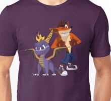 Orange & Purple Unisex T-Shirt