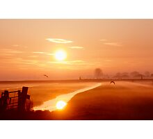 A misty day Photographic Print