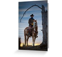 Under the Dead Tree Greeting Card