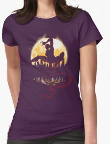 Venomous Night Womens Fitted T-Shirt