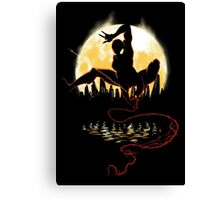 Venomous Night Canvas Print