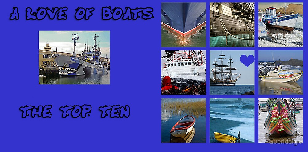 """BANNER """"CHALLENGE A LOVE OF BOATS"""" 27 APRIL 2012 by Guendalyn"""