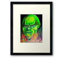 THE WIZARD, OF OZ  Framed Print