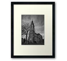Church Karken Framed Print