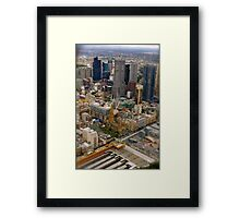 Melbourne The City of All Framed Print