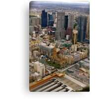 Melbourne The City of All Canvas Print