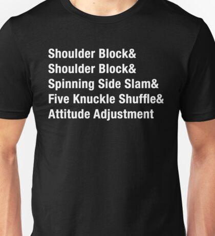 5 Moves of Doom Unisex T-Shirt