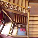 Timber Stairs by Judy Woodman