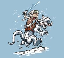 Calvin and Hoth Kids Tee