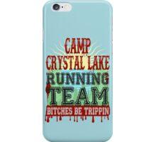 Camp Crystal Lake Running Team iPhone Case/Skin
