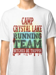 Camp Crystal Lake Running Team Classic T-Shirt