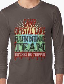 Camp Crystal Lake Running Team Long Sleeve T-Shirt