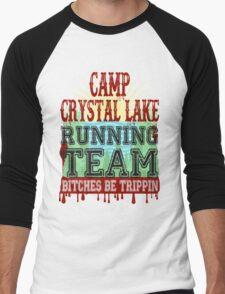 Camp Crystal Lake Running Team Men's Baseball ¾ T-Shirt