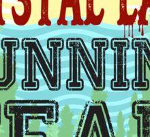 Camp Crystal Lake Running Team Sticker