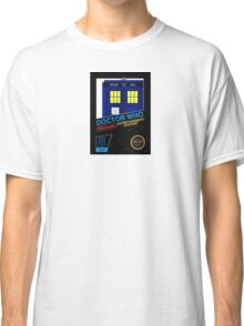 Nintendo: NES DOCTOR WHO The Game  Classic T-Shirt