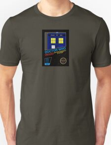 Nintendo: NES DOCTOR WHO The Game  T-Shirt
