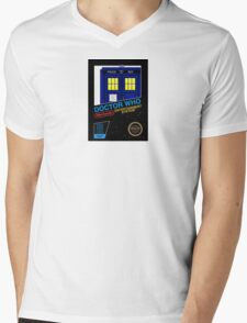 Nintendo: NES DOCTOR WHO The Game  Mens V-Neck T-Shirt