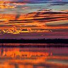 Quite A Nice Sunset by Carolyn  Fletcher