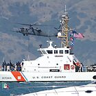 US Coast Guard Cutter Pike at Fleet Week by Barrie Woodward
