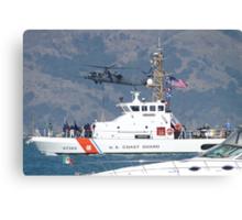 US Coast Guard Cutter Pike at Fleet Week Canvas Print