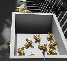 The busy bees of the rat race by Shelley Eden