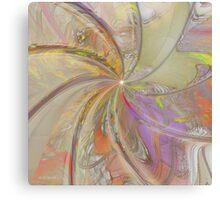Multi Colored Pinwheel Metal Print