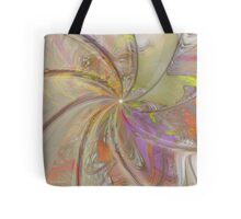 Multi Colored Pinwheel Tote Bag