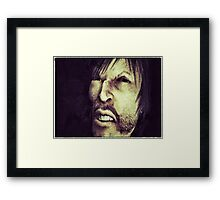 Edward Hyde - A study in Evil Framed Print