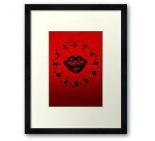 Barrel of 12 Monkeys Framed Print