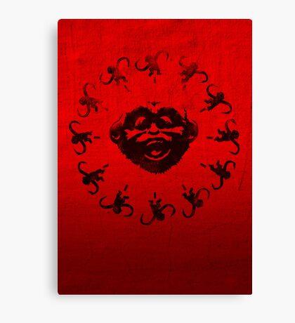 Barrel of 12 Monkeys Canvas Print