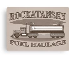 Rockatansky Fuel Haulage Canvas Print