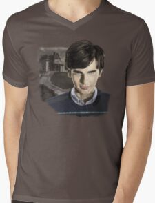 Norman Bates-Bates Motel Mens V-Neck T-Shirt
