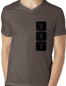 Velodrome City Icon Series no.7 Mens V-Neck T-Shirt