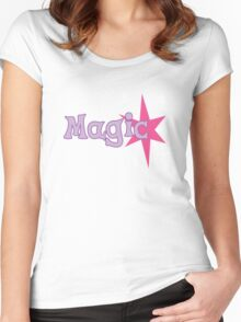 Twilight - Magic Women's Fitted Scoop T-Shirt