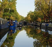 Canal Reflection by Adam Symes
