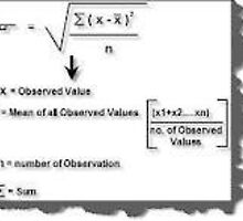 How to Calculate Standard Deviation by avinash101