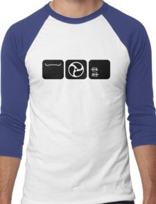 Velodrome City Icon Series no.4 Men's Baseball ¾ T-Shirt